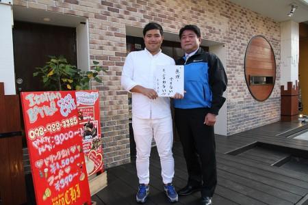 白水堂代表取締役 島袋 清吾氏