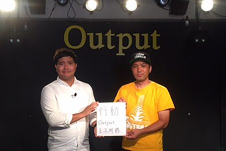 Live house out put Okinawa 上江洲 修 店長
