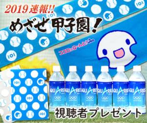 2019速報!! めざせ甲子園!視聴者プレゼント