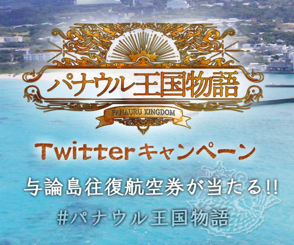 「パナウル王国物語」Twitterキャンペーン