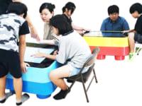 未来型・ゆめのテーブル「シンク タッチ」