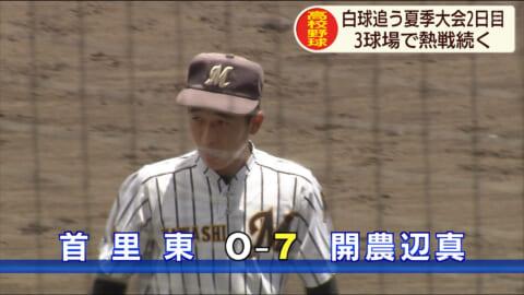 高校野球夏季大会 2日目も熱戦続く
