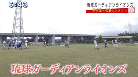 県内唯一の社会人アメフトチーム 琉球ガーディアンライオンズ