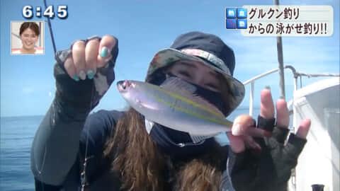 元部沖 伊江島近海でグルクン釣りからの泳がせ釣り!!