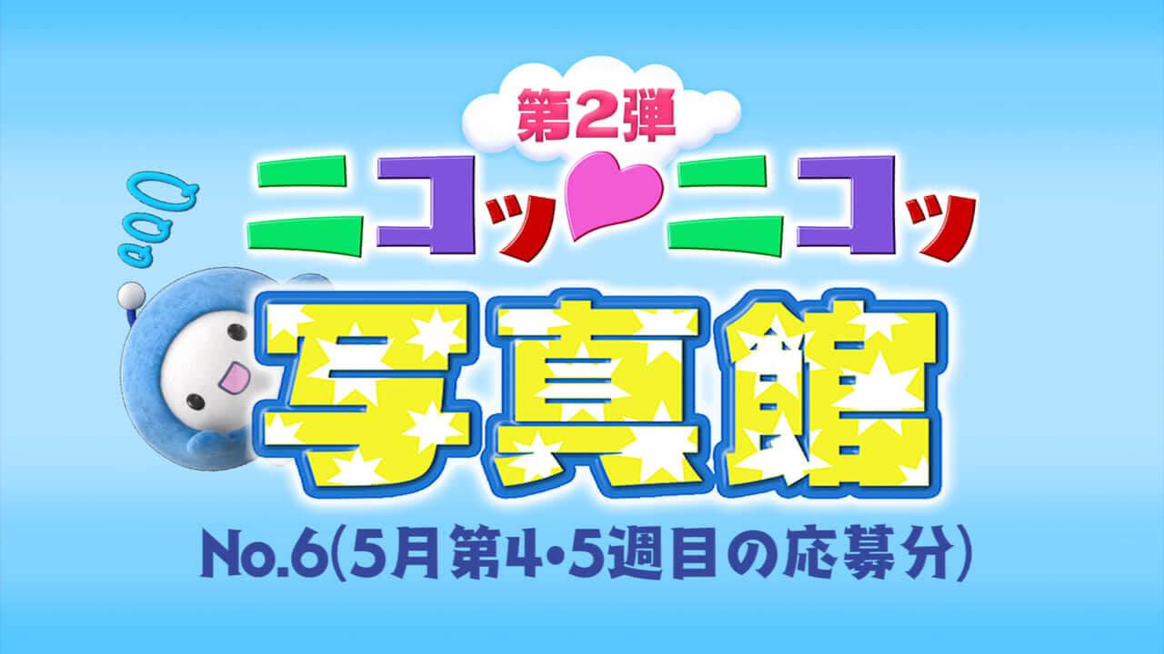 No.6「5月第4週・第5週の応募分」
