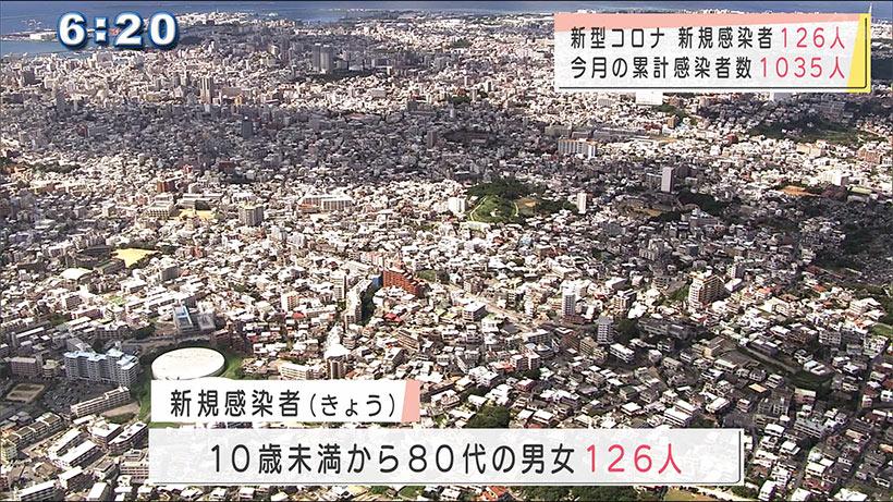 沖縄県 新型コロナ新規感染126人