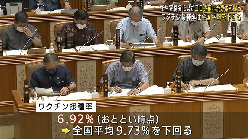 県議会6月定例会が開会 県が補正予算案を提出