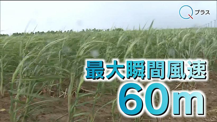 先島に接近の台風6号 各地で影響