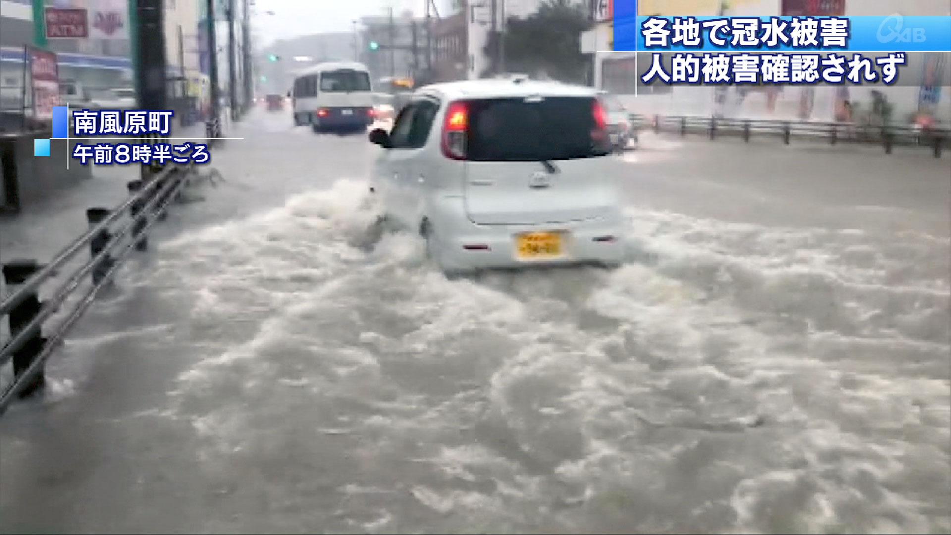 県内各地で激しい雨 土砂災害に注意