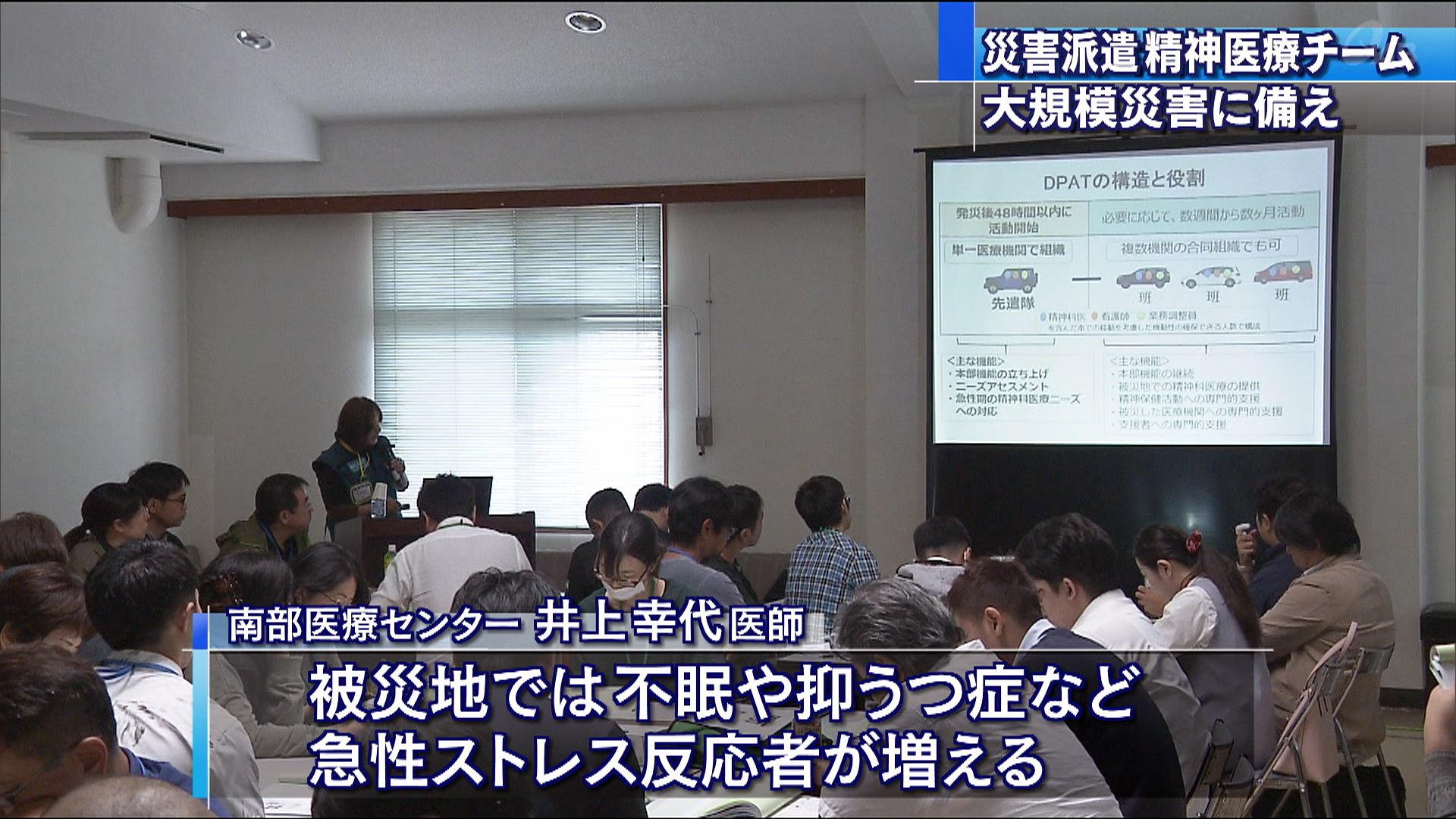 災害派遣精神医療チーム研修会