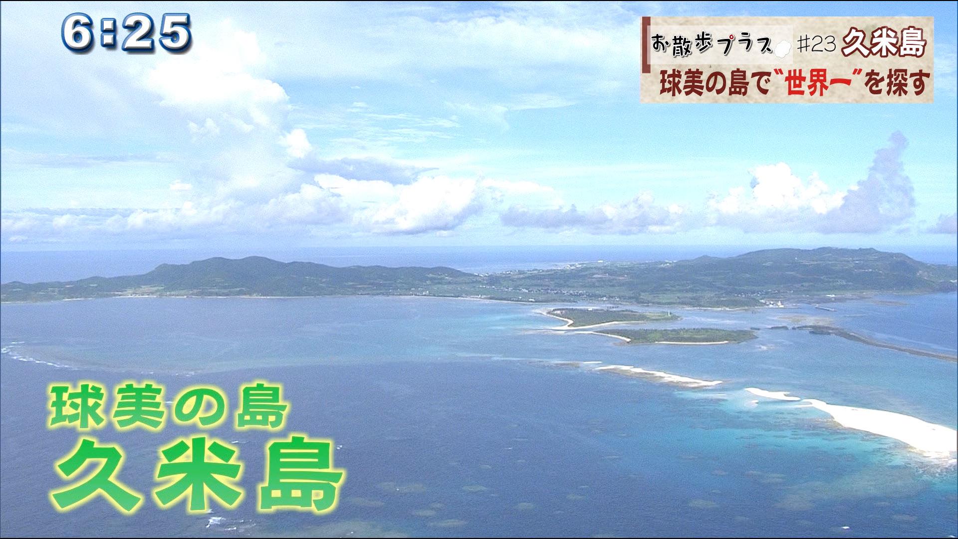 お散歩プラス♯23 久米島編 1