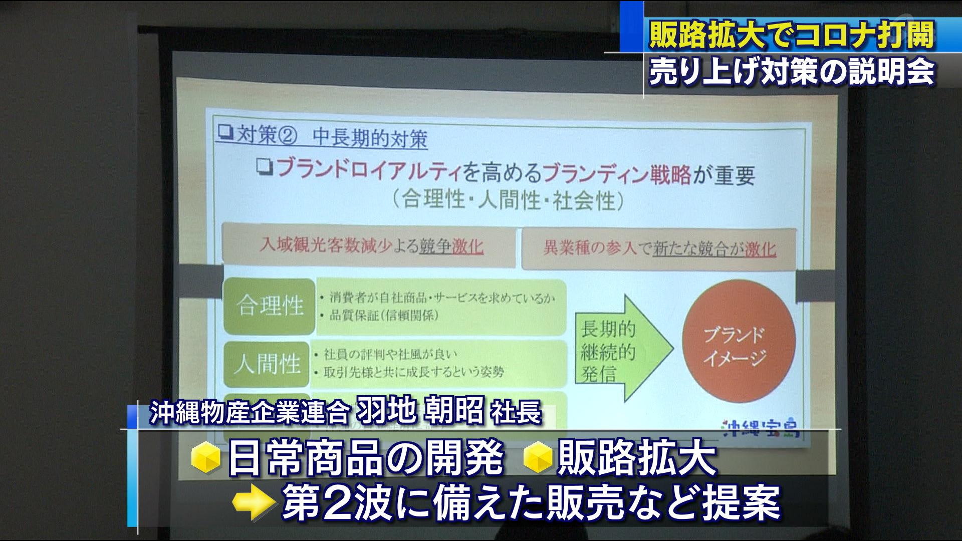 コロナ禍の影響における売上対策説明会