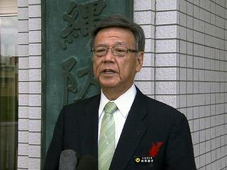 知事 沖縄防衛局に辺野古断念求める