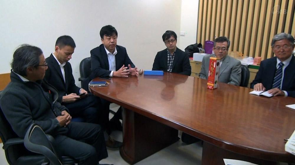 県内企業が台湾向け商品のPR活動