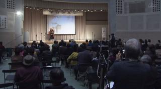 かりゆし長寿大学校で学習発表会