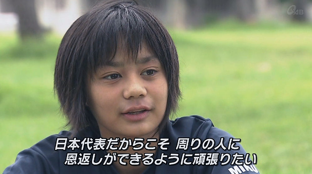 Q+スポーツ部 歴代最年少 14歳の日本代表