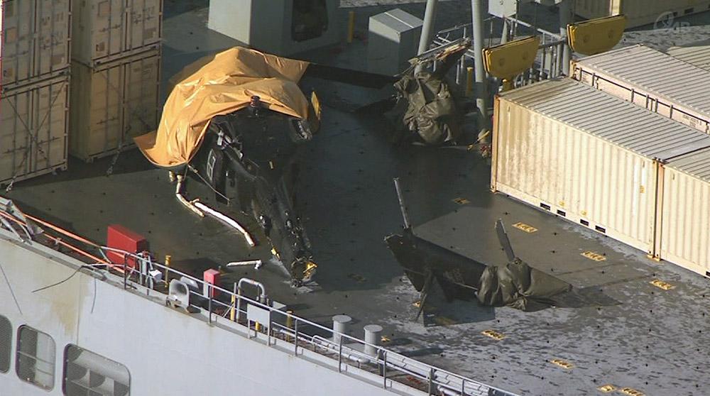 米陸軍ヘリ墜落 日米で「研修中」だった
