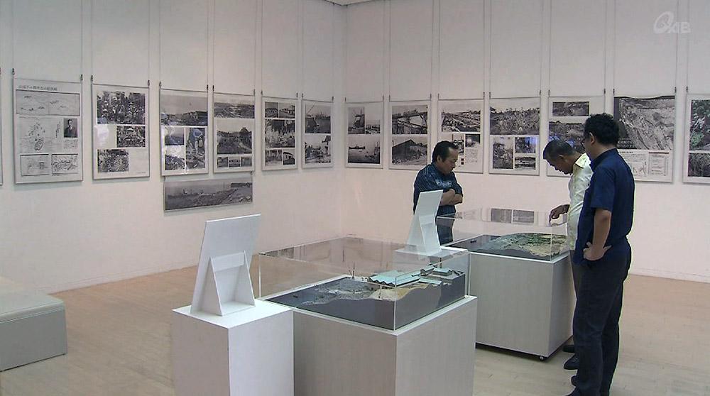 リン鉱石採掘の歴史 北大東景観展