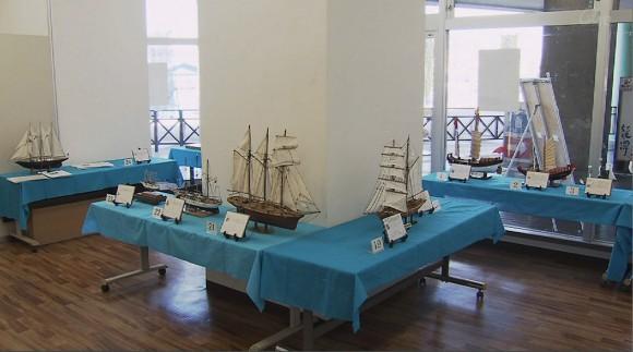 世界の帆船模型一堂に