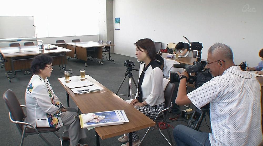 糸満市とQAB 戦中戦後体験を映像で記録