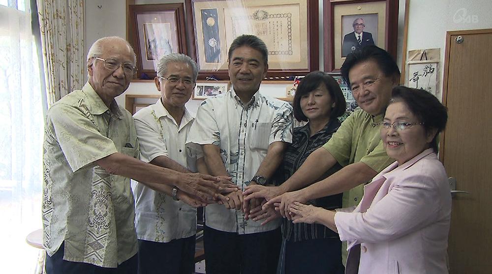 宜野湾市長選 元県統括監が出馬を受諾
