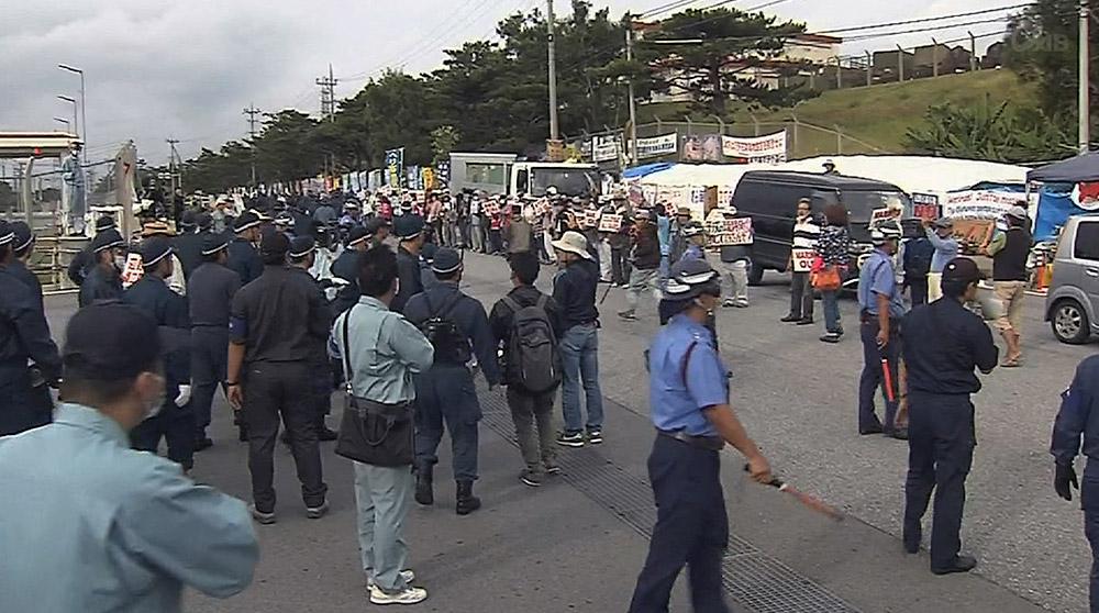 警視庁が辺野古に約150人の機動隊を投入