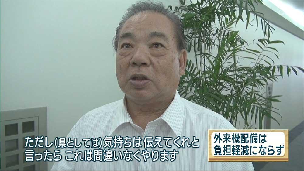 安慶田副知事が米総領事と意見交換