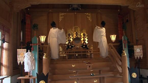 宮古神社ですす払い