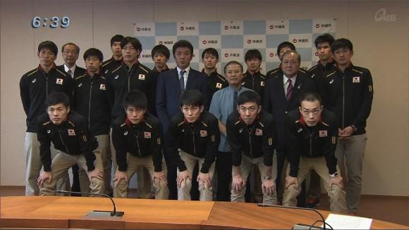 全日本バレーボールチーム記者会見