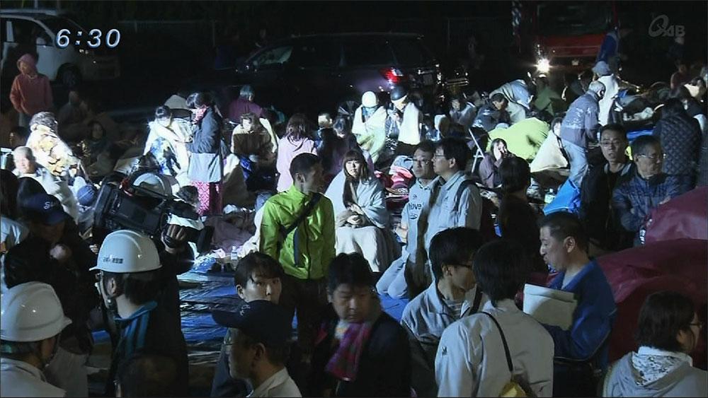 熊本で震度7 その時沖縄出身者は