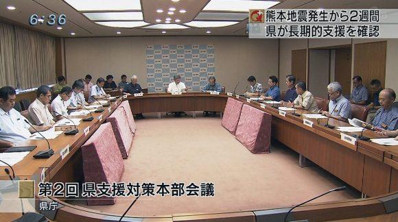 第2回県支援対策会議 継続した支援を確認