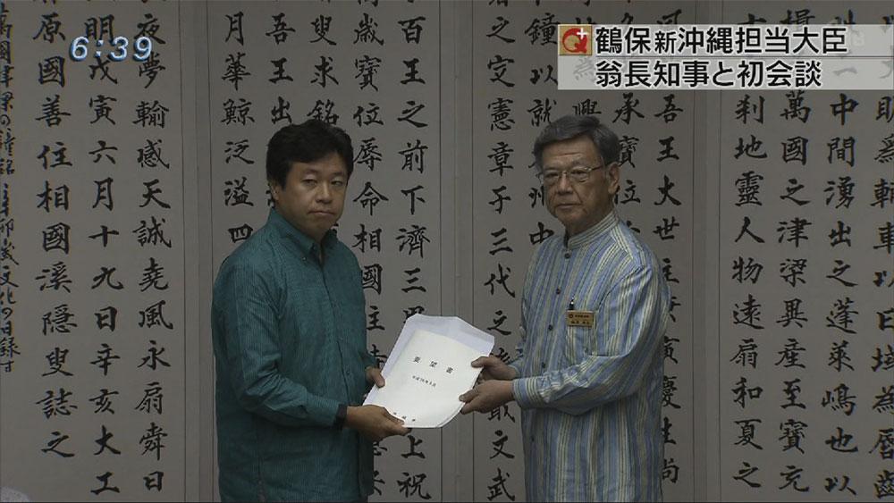 鶴保沖縄担当大臣「本当に3000億円必要か」