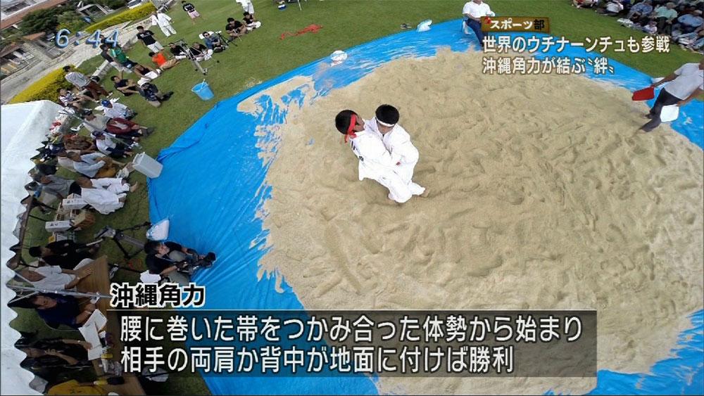 Q+スポーツ部 沖縄角力大会