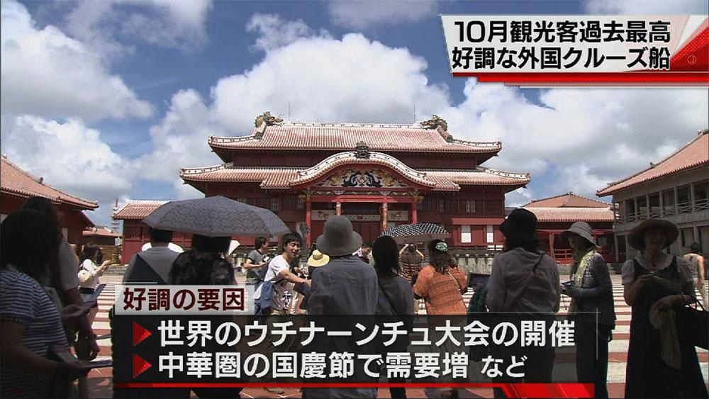 10月観光客数過去最高