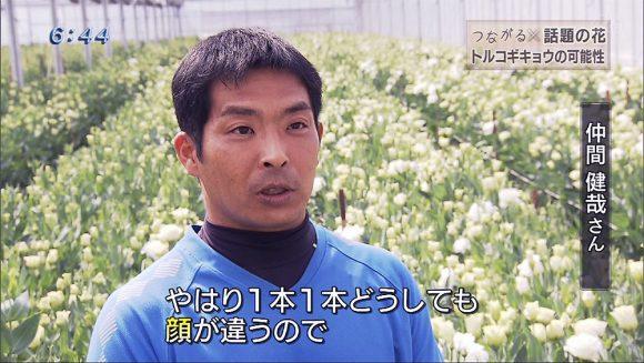つながる × 話題の花 トルコギキョウの可能性