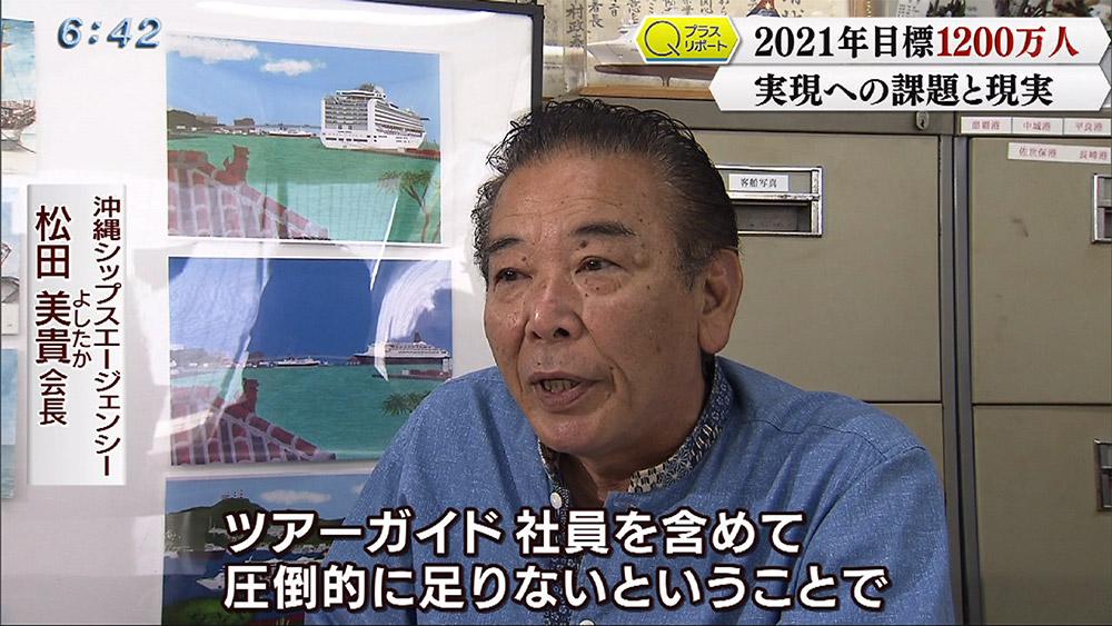Qプラスリポート 沖縄観光1200万人目標の課題