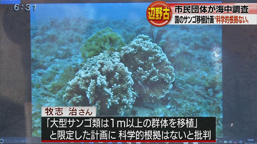 辺野古K9護岸の調査結果報告で会見