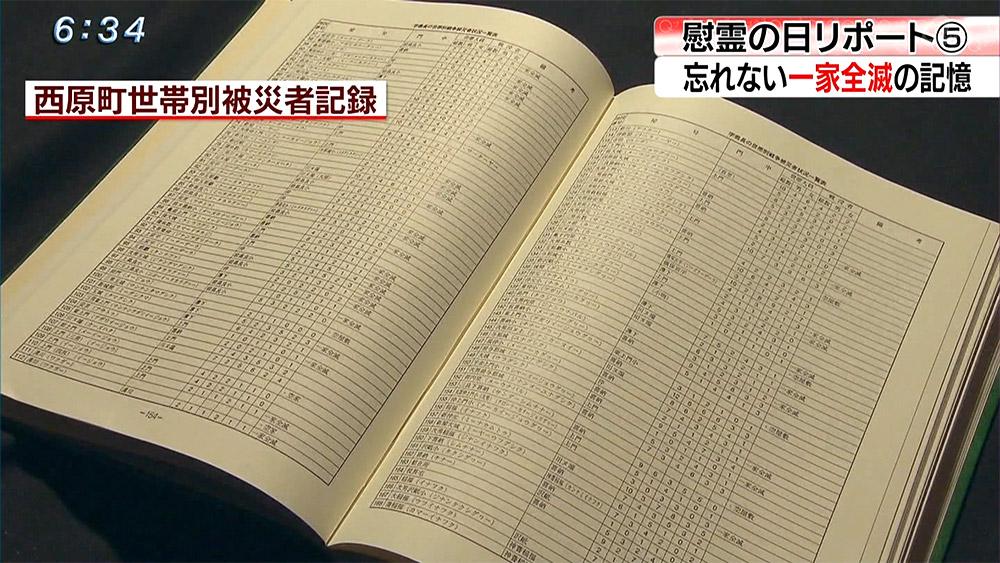 """慰霊の日リポート(5) 忘れない""""一家全滅""""の記憶"""