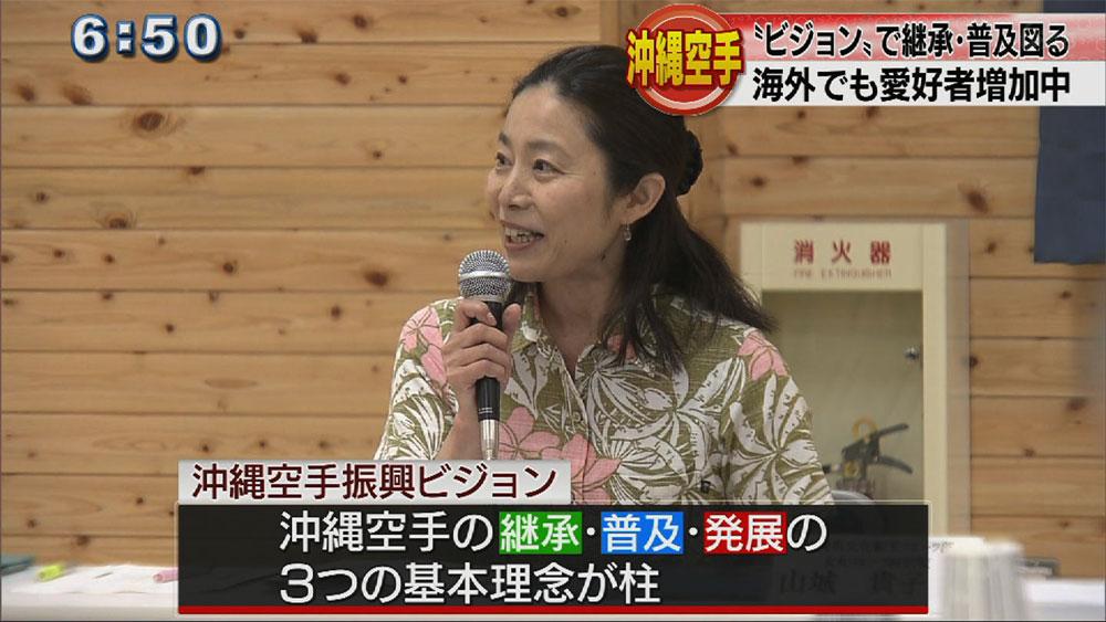 沖縄空手振興ビジョン 今年度中に策定へ