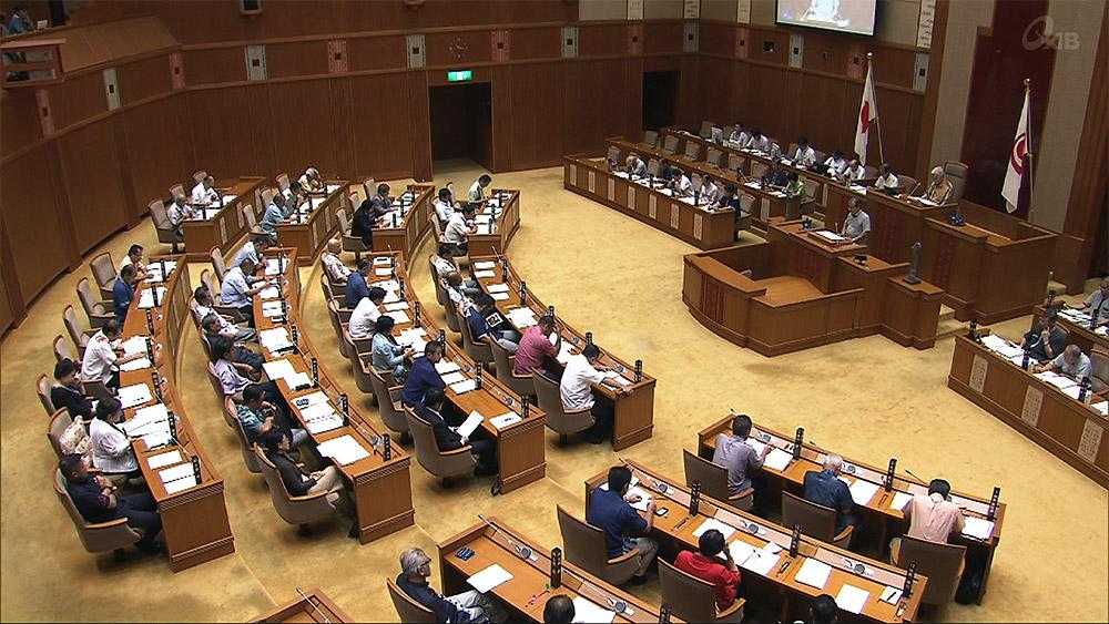 県議会代表質問初日 北朝鮮問題外交で解決求める