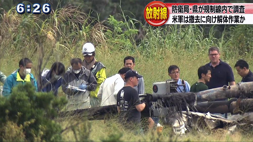 事故から6日 日本側が放射線調査