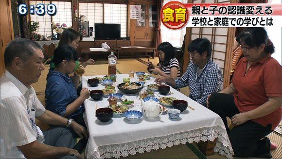 """取り戻せ 長寿県 学校と家庭で""""食""""を考える"""