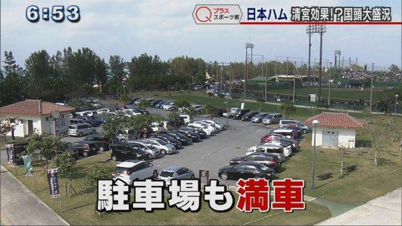 Qプラススポーツ部 プロ野球キャンプ 9球団揃う