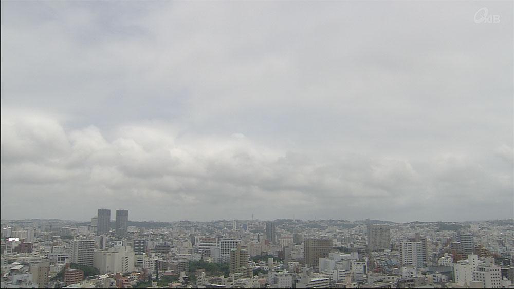 沖縄本島地方9日ぶりのまとまった雨