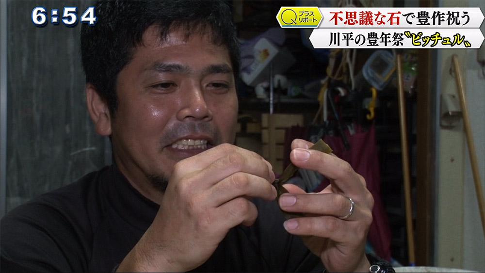 Qプラスリポート 石垣 川平の豊年祭「ビッチュル」
