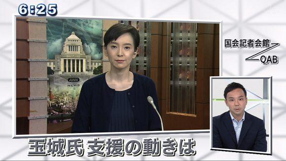 テレビ朝日政治部記者に直撃 県知事選 永田町はどう見る