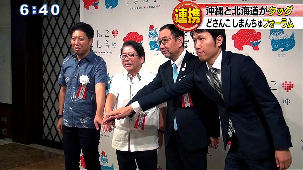 沖縄と北海道の企業が連携 「どさんこしまんちゅ」