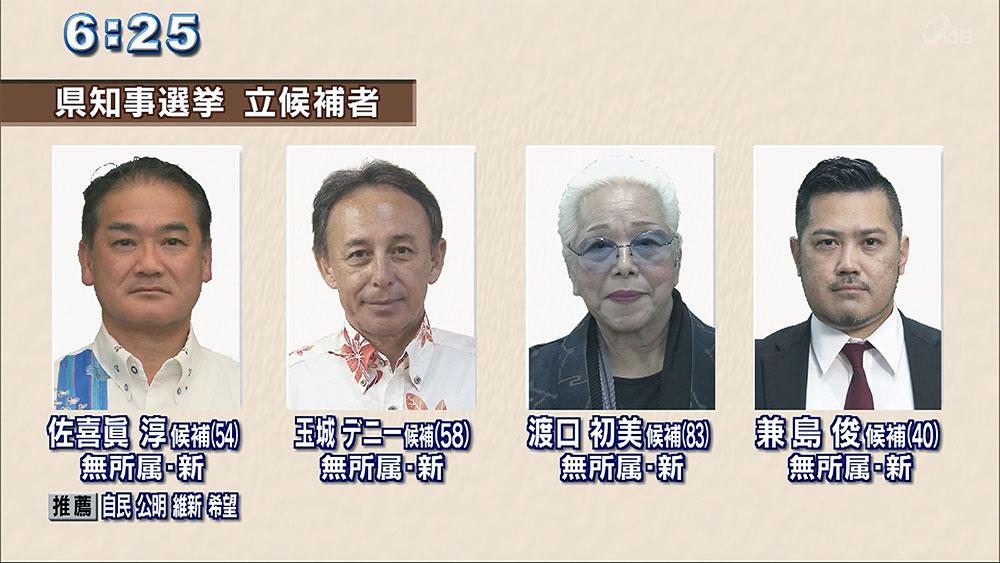 県知事選 候補者はどんな人?