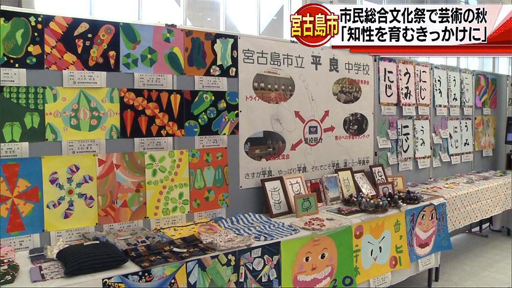 宮古島市民総合文化祭で「芸術の秋」