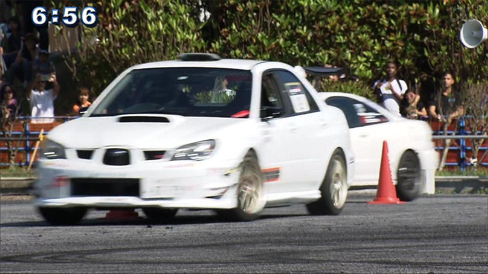ドライビングテクニックを競う モータースポーツフェスティバル